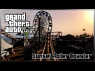 V�deo Grand Theft Auto V: GTA V - Sunset Roller Coaster Gameplay / Monta�a Rusa