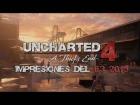 V�deo: UNCHARTED 4 impresiones en ESPA�OL del E3 2015