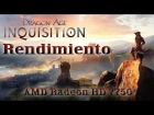 V�deo: Rendimiento Dragon Age Inquisition - AMD Radeon 7750