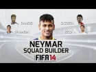 Fifa 14 Ultimate Team | Squad Builder con Neymar,I