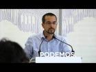 V�deo: Rueda de Prensa del Consejo de Coordinaci�n de Podemos. 21 de Julio.