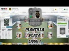 Fifa 14 Ultimate Team | Plantilla 20K | Plata - Ligue 1