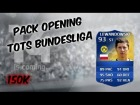 Fifa 14 Ultimate Team | Pack Opening 150K | Tots Bundesliga