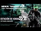 "V�deo Splinter Cell: Blacklist: SPLINTER CELL ""BLACKLIST"".- ""ESTACION DE VORON"" parte 2/2 - 100% FANTASMA"