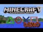 V�deo Minecraft: MINECRAFT PS3 DEMO