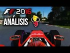 Video: F1 2016 Codemasters Análisis Gameplays E3