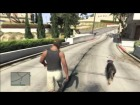 V�deo Grand Theft Auto V: GTA V Loquendo | Un dia con Franklin y chop |
