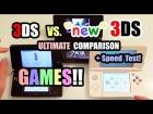 V�deo: 3DS vs. NEW Nintendo 3DS - ULTIMATE COMPARISON [Games]