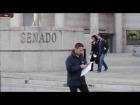 V�deo: Los carteros del Senado, Maribel Mora y Ram�n Espinar