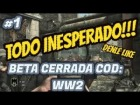 Video: TODO INESPERADO!!! BETA CERRADA DE COD: WW2 | GAMEPLAY EN ESPAÑOL