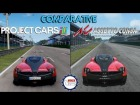 V�deo: Project CARS Vs Assetto Corsa - Pagani Huayra @ Monza