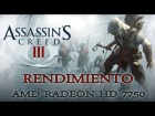 V�deo: Rendimiento: Assassins Creed 3 AMD Radeon HD 7750 | R7 250