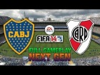 V�deo FIFA 14 NEXT GEN FIFA 14 | BOCA - RIVER - FULL GAMEPLAY [HD+ XBOX ONE / PS4]