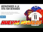 """Camisetas y Nuevos Regalos"" En Fifa Fan Rewards ""POR REGIONES"""