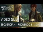 Assassin's Creed 4 Black Flag Walkthrough - Secuencia 4 - La vieja cueva al 100%