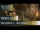 Assassin's Creed 4 Black Flag Walkthrough - Secuencia 5 - Los Fuertes al 100%