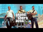 V�deo Grand Theft Auto V: Grand Theft Auto V: Official Trailer #2