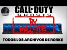 V�deo Call of Duty: Ghosts: Localizaci�n archivos rorke cod ghots