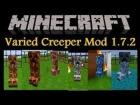 GUIA MINECRAFT MOD: VARIED CREEPERS MOD