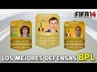 Fifa 14 Ultimate Team | Los mejores DFC de la Barclays | Barclays Fastest CB's