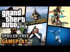 V�deo Grand Theft Auto V: GTA 5 - Gameplay [No Spoiler]