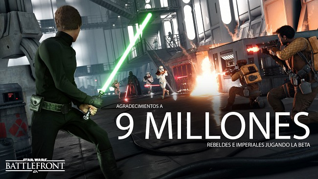 La beta de Star Wars Battlefront