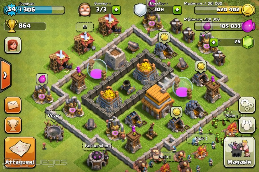 Imagen 2 de 2 de Clash of Clans (iPhone)