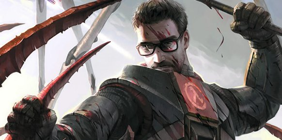 Gordon Freeman, protagonista de la serie Half-Life. 