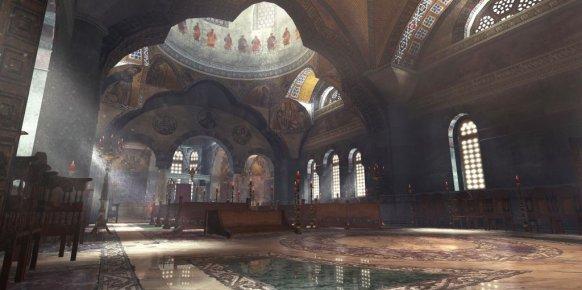 Primer art-work de Sanctuary, uno de los dos nuevos mapas