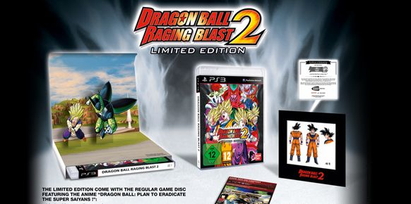 Edici&oacute;n de coleccionista de Dragon Ball: Raging Blast 2
