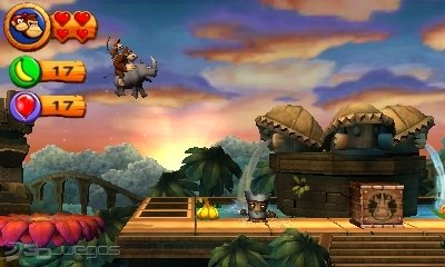 Donkey Kong Returns 3D