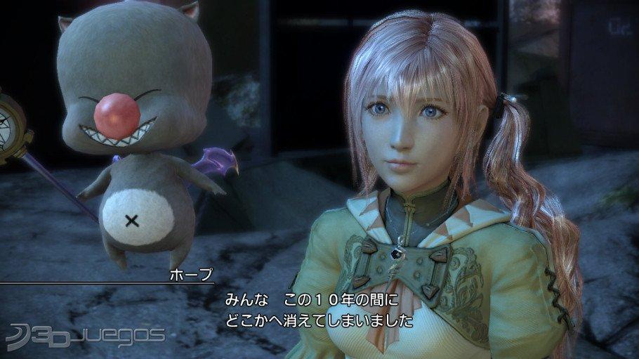 Imagenes Final Fantasy XIII-2 XBOX 360