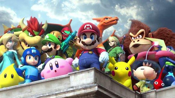 Super Smash Bros. para Wii U permitiría crear escenarios personalizados