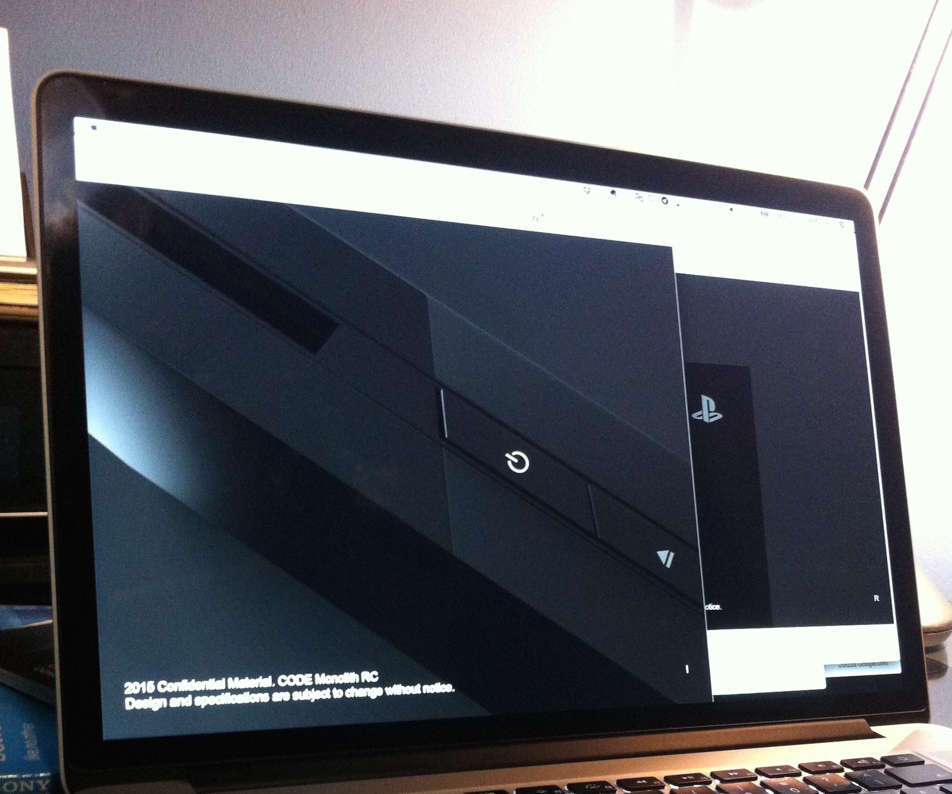 Filtrada posible imagen del modelo Slim de PS4