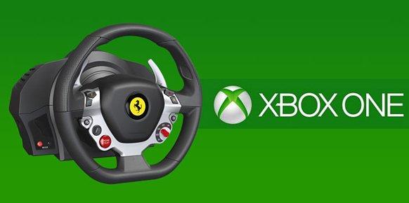 Xbox One descarta la compatibilidad con los volantes de Xbox