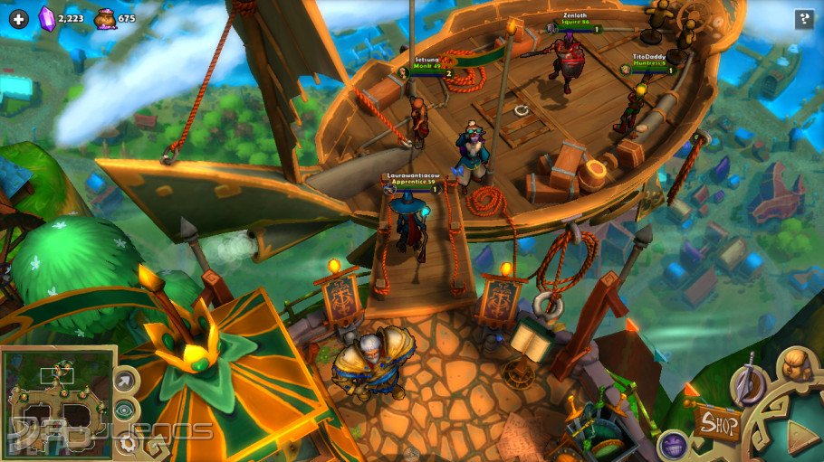 В Dungeon Defenders II реализована абсолютно новая система боя и возведения