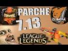 Video: Parche 7.13 lol español | League of Parches | gaditanorl