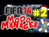 "Video FIFA 14 - FIFA 14 | Modo Carrera | Capitulo 2 #T1. ""UN BUEN REGALO NAVIDE�O"""
