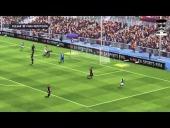 V�deo FIFA 14 - Barcelona 1 - Milan 1 2013 Jordi Alba se cabrea.
