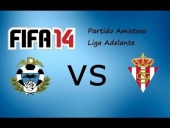 Video FIFA 14 - LIGA ADELANTE ALCORCON vs SPORTING [FIFA14]