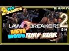 V�deo: LAWBREAKERS ALPHA #2 MODO TURF WAR Gameplay Espa�ol 2k 21:9
