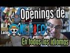 V�deo: Reacciones viendo openings de ONE PIECE