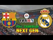 Video FIFA 14 - NEXT GEN FIFA 14 | Barcelona - Real Madrid - FULL GAMEPLAY [HD+ XBOX ONE / PS4]