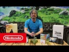 Video: Edición limitada de The Legend of Zelda: Breath of the Wild - Apertura de la caja con Eiji Aonuma