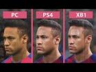 V�deo: PES 2017 | Pro Evolution Soccer 2017 � PC vs. PS4 vs. Xbox One Graphics Comparison