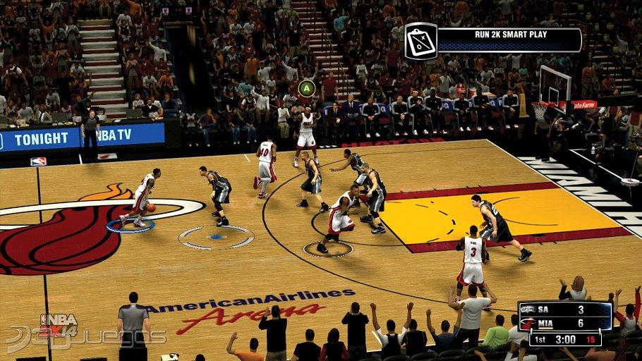 Imagenes NBA 2K14 XBOX 360