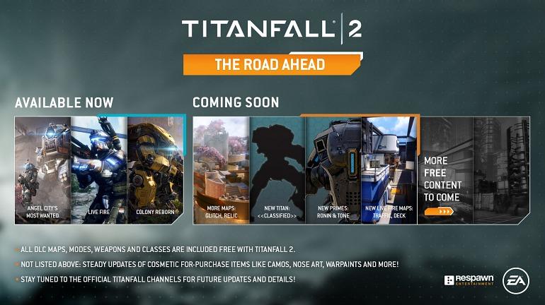 Titanfall 2 se ampliará con nuevos mapas y titanes entre abril y junio