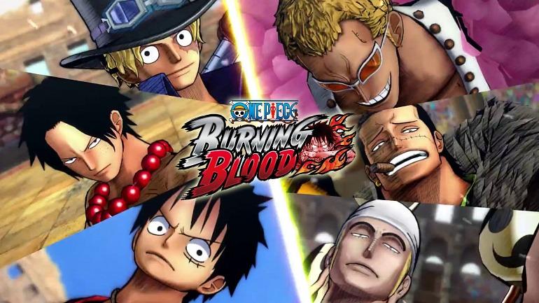 Los usuarios decidirán los próximos luchadores de One Piece: Burning Blood