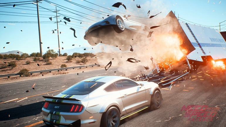 Need for Speed: Payback sólo pesa 17,81 GB en Xbox One