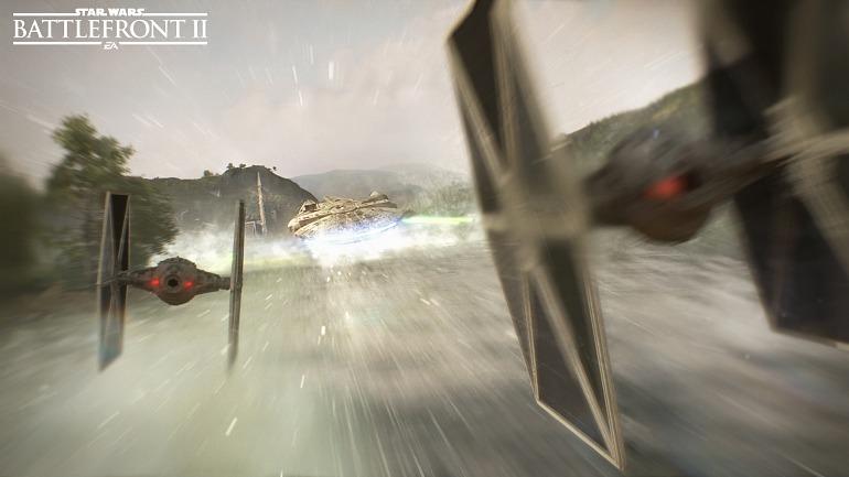 Star Wars Battlefront 2 mostrará sus batallas espaciales en la Gamescom